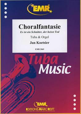Choralfantasie Opus 93 1983 Jan Koetsier Partition Tuba - laflutedepan