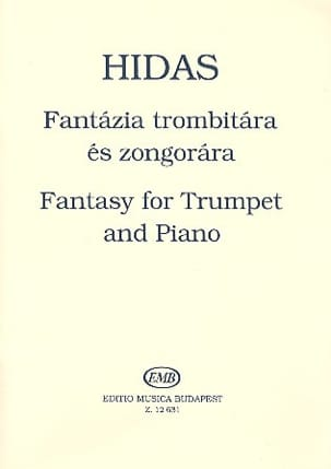Frigyes Hidas - Fantasy For Trumpet - Partition - di-arezzo.fr