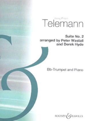 Georg Ph Telemann - Suite N° 2 - Partition - di-arezzo.fr