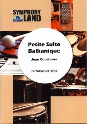 Petite Suite Balkanique Jean Courtioux Partition laflutedepan