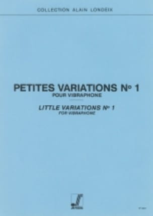 Alain Londeix - Small Variations N ° 1 - Sheet Music - di-arezzo.com