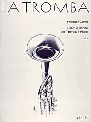 Canto E Rondo - Friedrich Zehm - Partition - laflutedepan.com