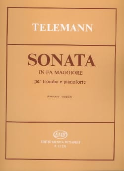 TELEMANN - Sonata in F Major - Sheet Music - di-arezzo.co.uk