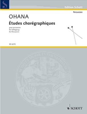 Etudes Chorégraphiques (4 Spieler) - Maurice Ohana - laflutedepan.com
