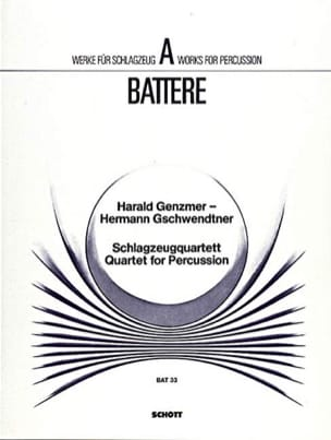 Quartet For Percussion - laflutedepan.com