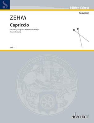 Friedrich Zehm - Capriccio - Partition - di-arezzo.fr