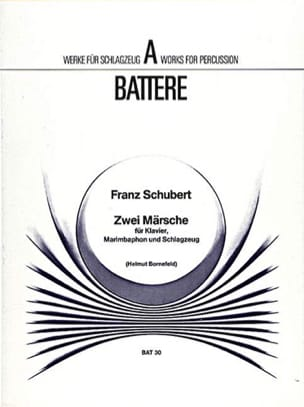 SCHUBERT - Zwei Märsche - Partition - di-arezzo.fr