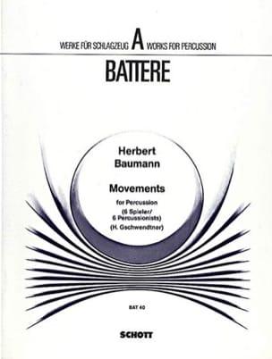 Herbert Baumann - Movements - Partition - di-arezzo.fr