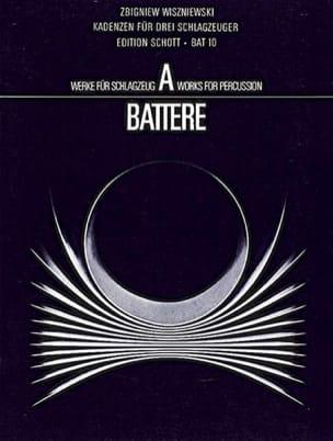 Zbigniew Wiszniewski - Kadenzen Für Drei Schlagzeuger - Partition - di-arezzo.fr