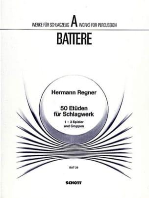 Hermann Regner - 50 Etüden Für Schlagwerk - Partition - di-arezzo.fr