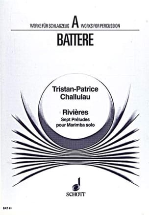 Tristan-Patrice Challulau - Riviéres (Sept Préludes) - Partition - di-arezzo.fr