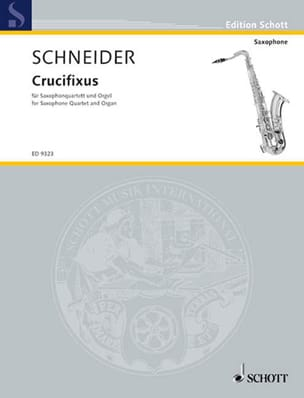 Enjott Schneider - Crucifixus - Sheet Music - di-arezzo.co.uk
