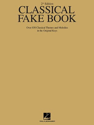 The Classical Fake Book. Ut - Partition - di-arezzo.fr