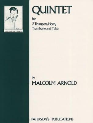 Quintet - Score Malcolm Arnold Partition laflutedepan