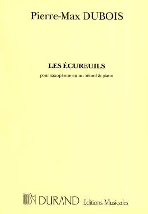 Pierre-Max Dubois - Les Ecureuils - Partition - di-arezzo.fr