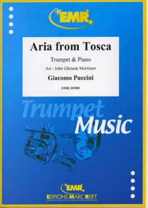 Aria From Tosca PUCCINI Partition Trompette - laflutedepan