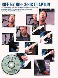 Eric Clapton - Riff By Riff Eric Clapton - Sheet Music - di-arezzo.com