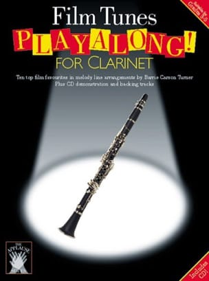 - Film Tunes Playalong For Clarinet - Partition - di-arezzo.fr