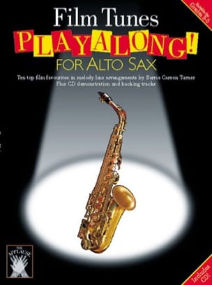 Film Tunes Playalong For Alto Sax Partition Saxophone - laflutedepan