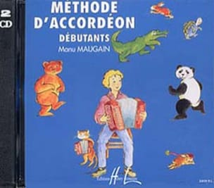 CD - Méthode d'Accordéon Manu Maugain Partition laflutedepan