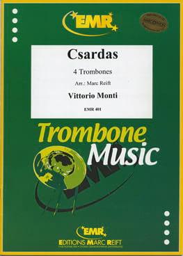 Csardas Vittorio Monti Partition Trombone - laflutedepan