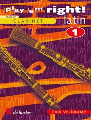 Play' Em Right ! Latin Volume 1 Erik Veldkamp Partition laflutedepan