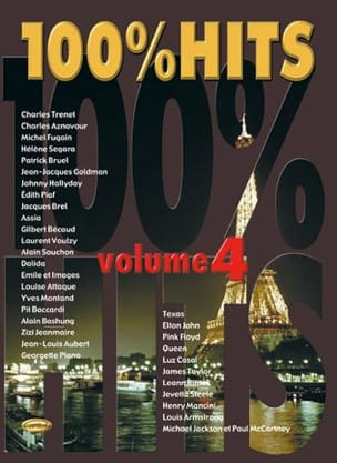 100% hits volume 4 - Sheet Music - di-arezzo.com
