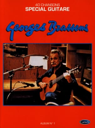 Georges Brassens - 40 Songs - Special Guitar Album 1 - Sheet Music - di-arezzo.co.uk