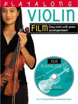 Playalong Violin Film - Partition - di-arezzo.fr