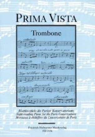 Prima Vista - Partition - Trombone - laflutedepan.com