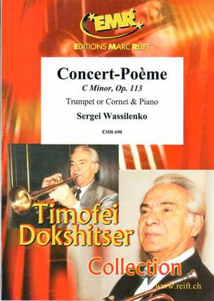 Sergeï Wassilenko - Concert-Poem In C-Moll Opus 113 - Sheet Music - di-arezzo.co.uk