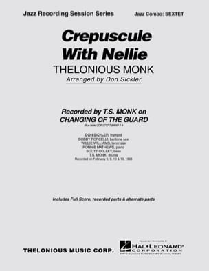 Thelonious Monk - Crepuscule With Nellie - Partition - di-arezzo.fr