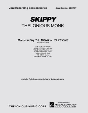 Thelonious Monk - Skippy - Partition - di-arezzo.fr