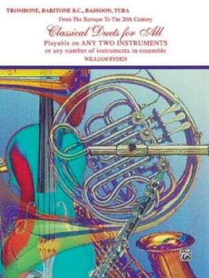 Classical Duets For All Partition Trombone - laflutedepan