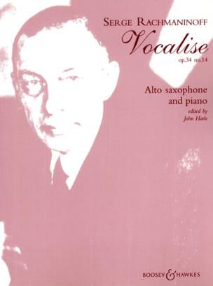 RACHMANINOV - Vocalise Opus 34 N ° 14 - Partitura - di-arezzo.es
