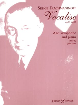 RACHMANINOV - Vocalise Opus 34 N ° 14 - Sheet Music - di-arezzo.co.uk