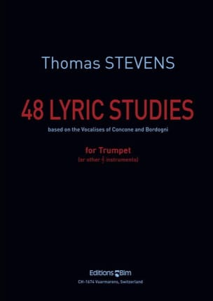 Thomas Stevens - 48 Lyric Studies - Sheet Music - di-arezzo.com