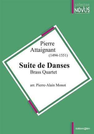 Suite de Danses Pierre Attaignant Partition laflutedepan