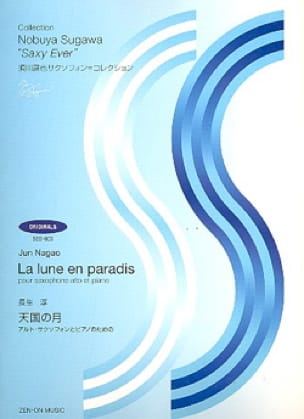 Jun Nagao - La Lune En Paradis - Partition - di-arezzo.fr