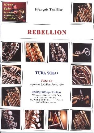 François Thuillier - Rebellion - Sheet Music - di-arezzo.com