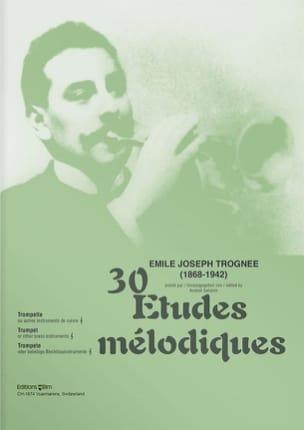 30 Etudes Mélodiques - Emile Joseph Trognée - laflutedepan.com