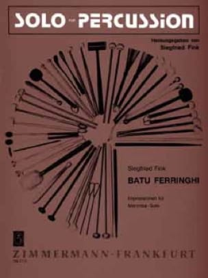 Siegfried Fink - Batu Ferringhi - Partition - di-arezzo.fr