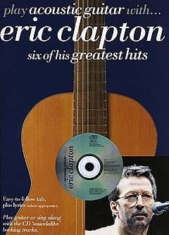 Eric Clapton - Play Acoustic Guitar With ... Eric Clapton - Sheet Music - di-arezzo.com