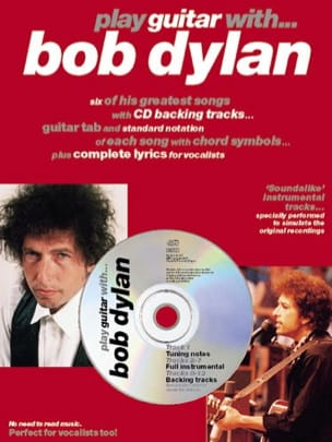 Bob Dylan - Play Guitar With... Bob Dylan - Partition - di-arezzo.fr