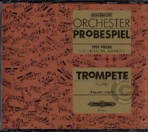 - CD Orchester Probespiel - Trompette - Partition - di-arezzo.fr
