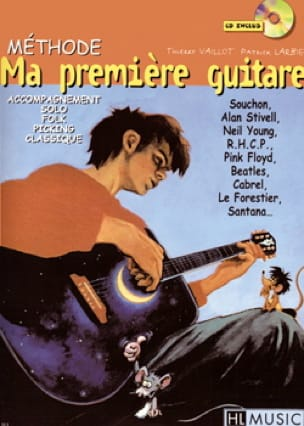 Vaillot Thierry / Larbier Patrick - Ma première guitare - Méthode - Partition - di-arezzo.fr