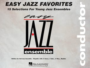 - Easy Jazz Favorites - Conducteur - Partition - di-arezzo.fr