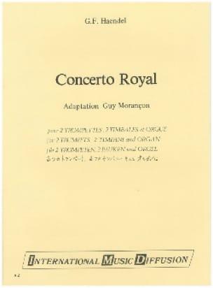 Concert royal HAENDEL Partition Trompette - laflutedepan