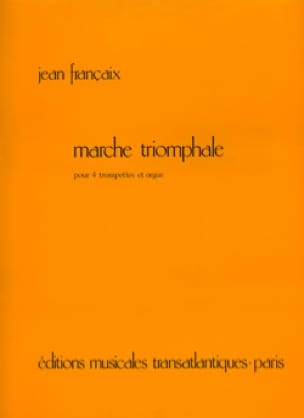 Jean Françaix - Triumphal March - Sheet Music - di-arezzo.co.uk