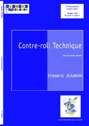 Frédéric Jeannin - Contre-Roll Technique - Partition - di-arezzo.fr